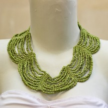 'Rounded Wave Chartreuse