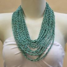 'Turquois beads twist