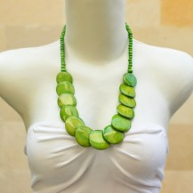 'Green Round Half Chain
