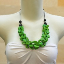 'Green Crosswise with String