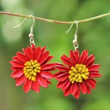 'Red Sun Flower
