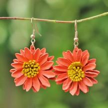 'Peach Sun Flower