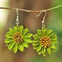 'Green Sun Flower