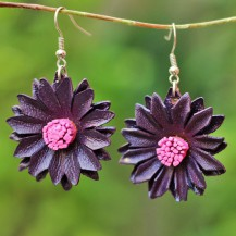 'Purple Sun Flower 2