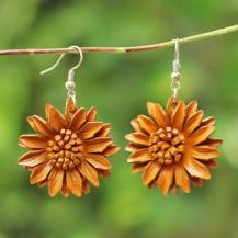 'Light Brown Sun Flower
