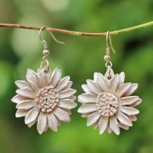 'White Sun Flower