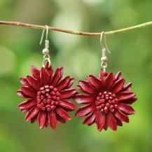 'Maroon Sun Flower