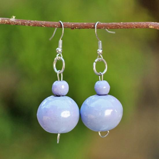 Purple Wooden Balls 2