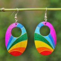 'Oval Rainbow With Hole