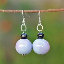 'Purple Wooden Balls