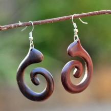 'Plain Wooden Spiral
