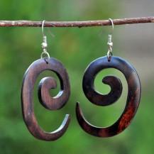 'Plain Wooden Spiral 2
